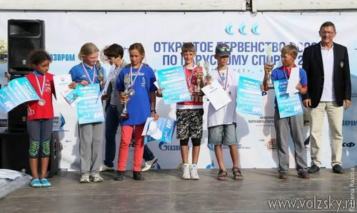 Волжане одержали победу на Первенстве России по парусному спорту