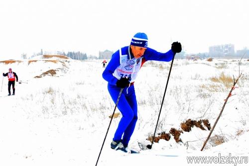Волжане встали на лыжи вместе со всей Россией