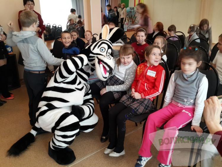 Волжская Зебра посетила детей-инвалидов