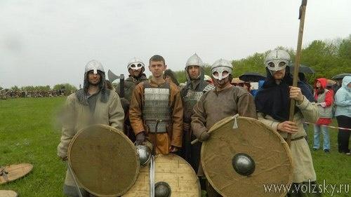 Волжские реконструкторы приняли участие в «Русборге»