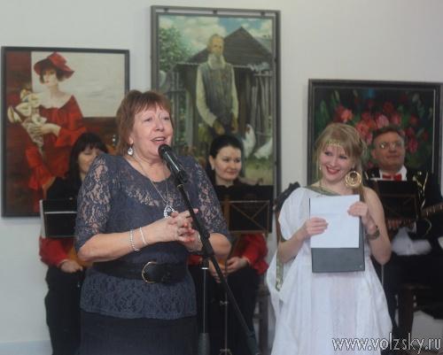 Волжский выставочный зал и картинная галерея отметили юбилей