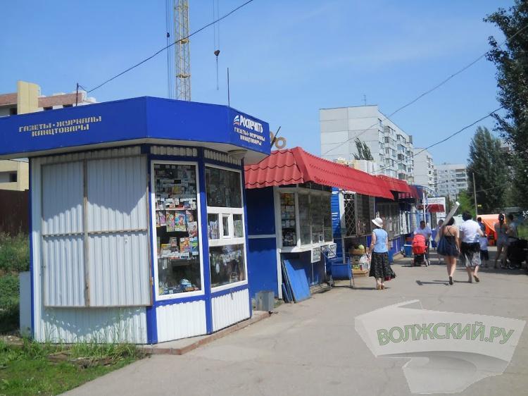 Проспект Ленина очистят от 6 нестационарных торговых объектов
