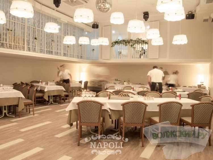 Банкетный зал Napoli приглашает к себе