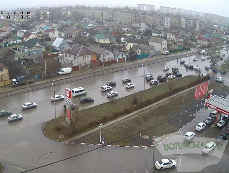 ДТП на улице Карбышева привело к огромной пробке