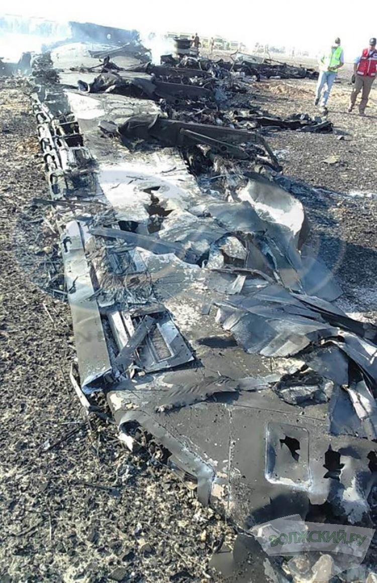 В Египте разбился российский самолет