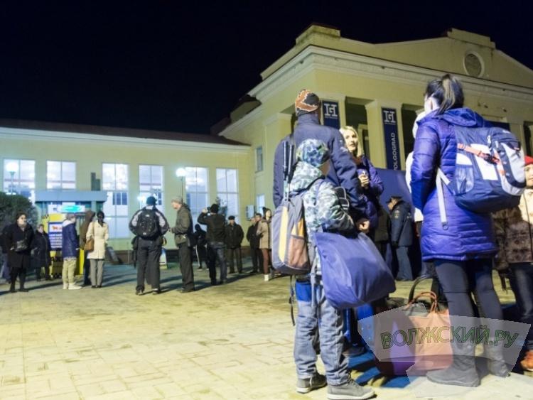 В Волгоград из Египта прибыли первые туристы
