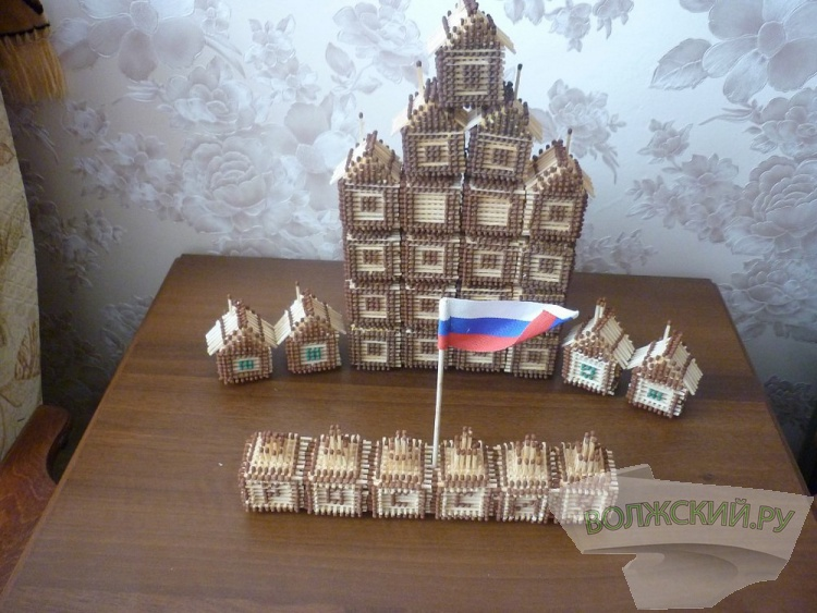 Интервью. Строитель из Волжского вместо традиционных домов возводит спичечные