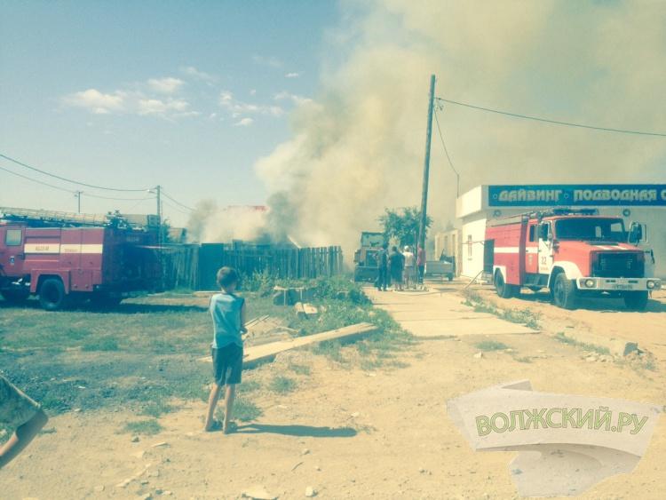 Из-за замыкания сгорел дом на Рабочем