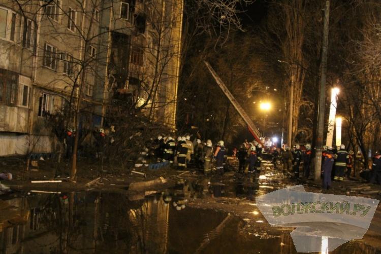 На месте взрыва в Волгограде найдено одно тело, судьба пятерых – неизвестна