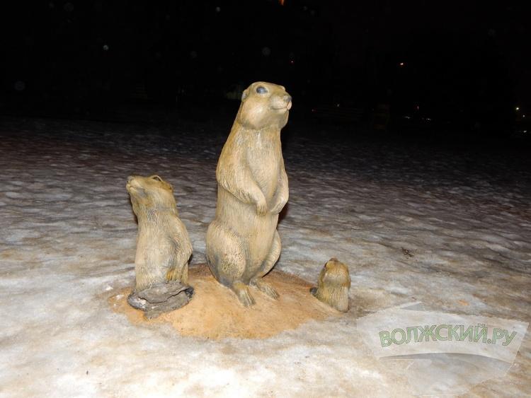 На площадь Ленина вернули суслика