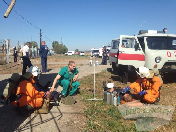 На ЗОСе ликвидировали «разлив» 50 тонн аммиака