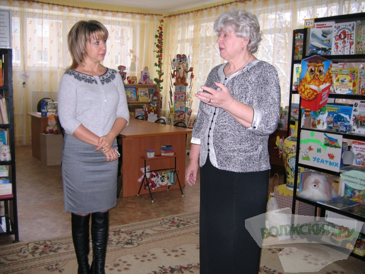 Татьяна Бухтина посетила Волжскую коррекционную школу