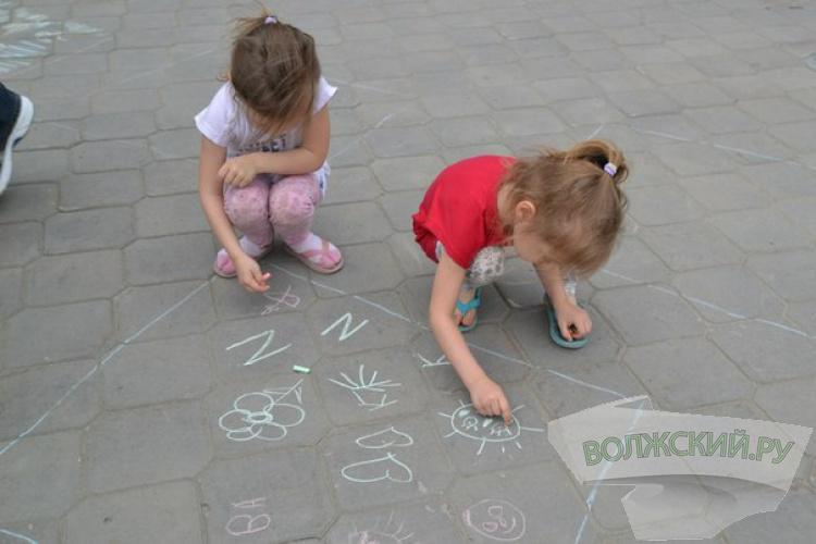 У ТРК «Волгамолл» волжане отметили День защиты детей