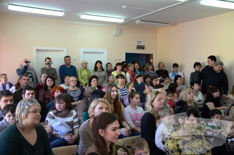 В центре Волжского открылся новый детский сад
