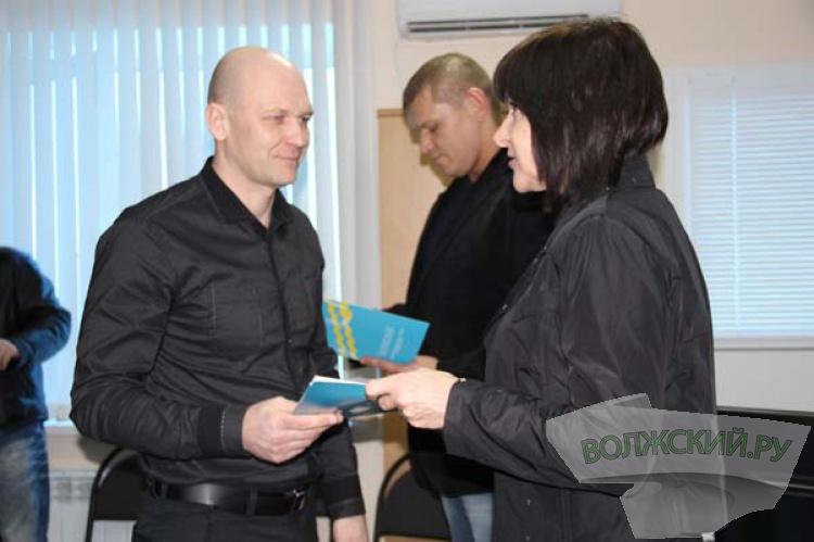 В Волжском чествовали работников культуры и спорта