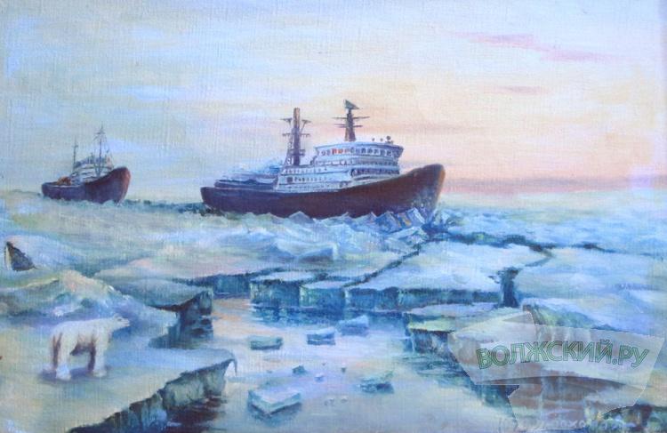 В Волжском историко-краеведческом музее дают «Зимний пейзаж»