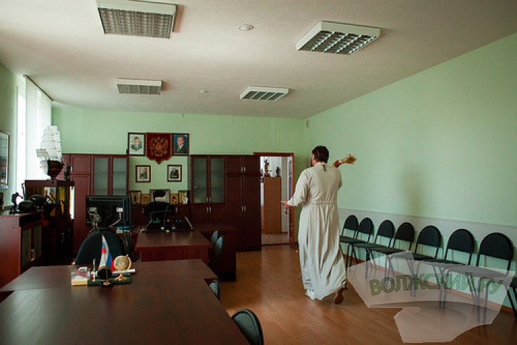В Волжском освятили здание городского полицейского управления