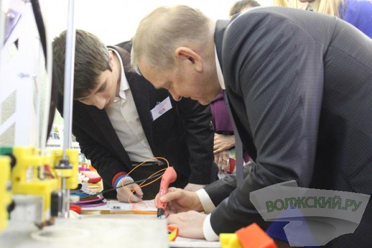 В Волжском открылся первый в регионе центр трехмерных технологий