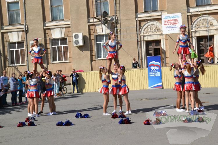 В Волжском прошел фестиваль «Россия без наркотиков!»