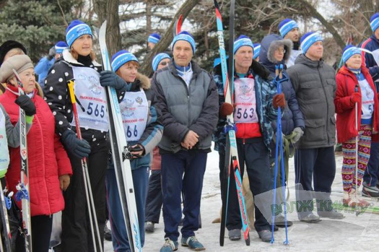 В Волжском прошли Олимпийские выходные