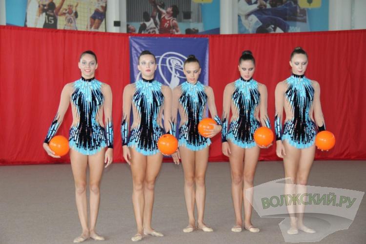 В Волжском прошли соревнования по художественной гимнастике
