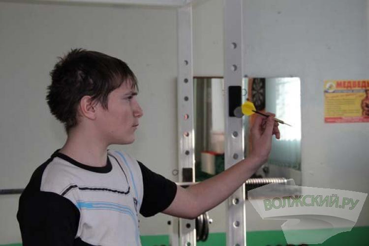 В Волжском прошли спортивные соревнования среди подростков-инвалидов