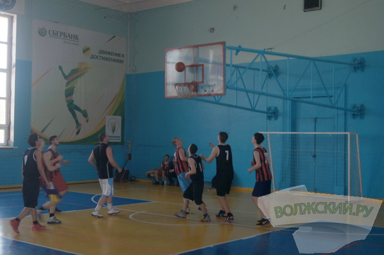 В Волжском прошло баскетбольное первенство среди студентов вузов