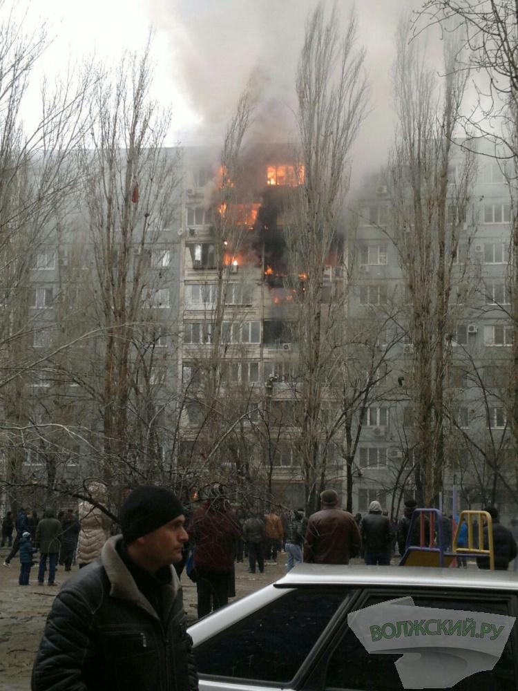 В Волгограде в жилом доме прогремел взрыв