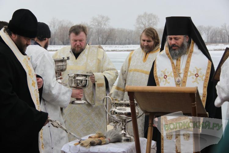 Волжане отмечают Крещение