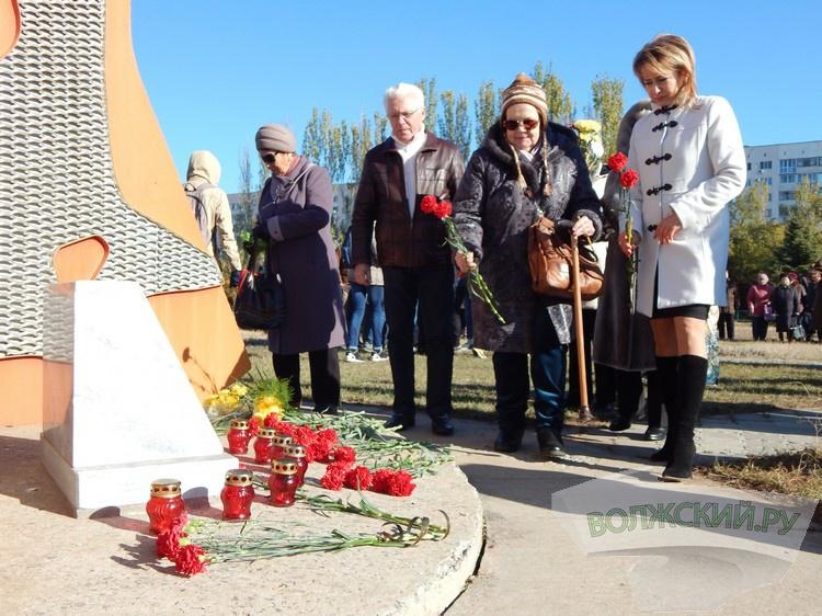 Волжане почтили память жертв политических репрессий