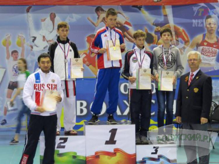Волжане завоевали медали Всероссийского первенства по тхэквондо