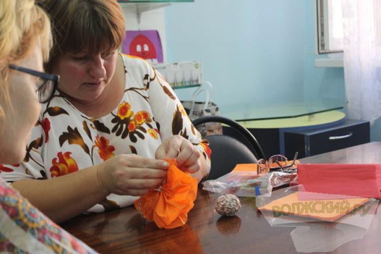 Волжские мастера провели творческий мастер-класс для детей