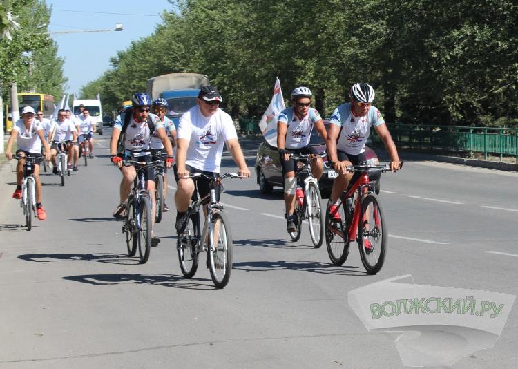 Волжский принял международный велопробег