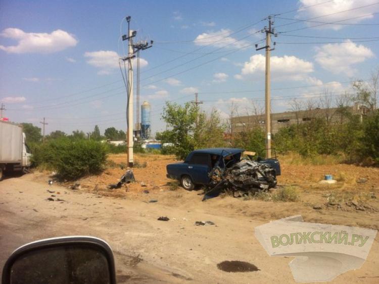 На Волжский обрушился целый шквал из крупных аварий