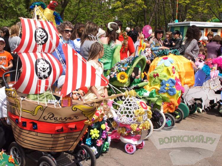 Волжан приглашают на «Парад колясок»