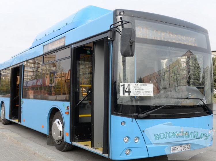 Волжане тестируют новый белорусский автобус