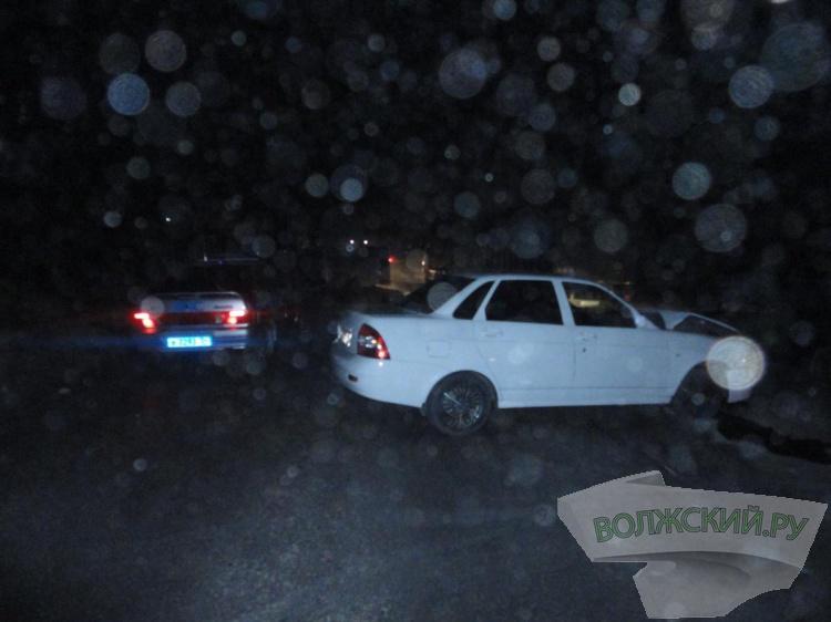 Волжская «маршрутка» перевернулась по дороге в Ленинск
