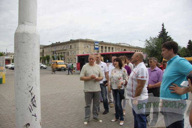 Воронин проинспектировал город