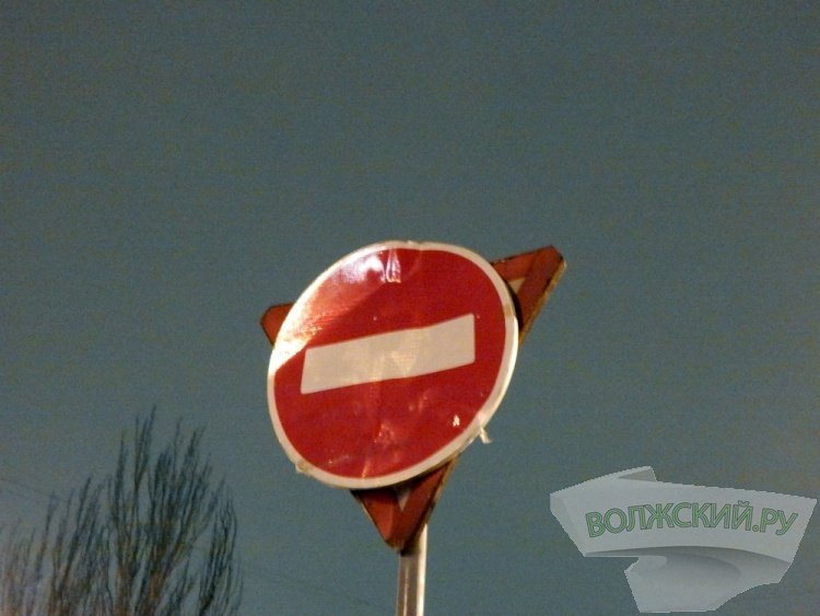 Знак «кирпич» на перекрестке Дружбы и Пионерской установлен самовольно