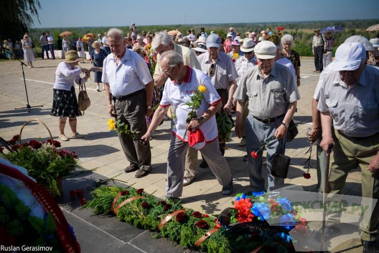 Волжане вспомнили земляков, погибших в годы ВОВ