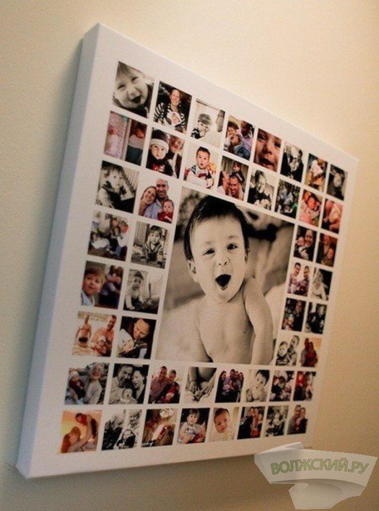 Коллаж с детскими фото своими руками