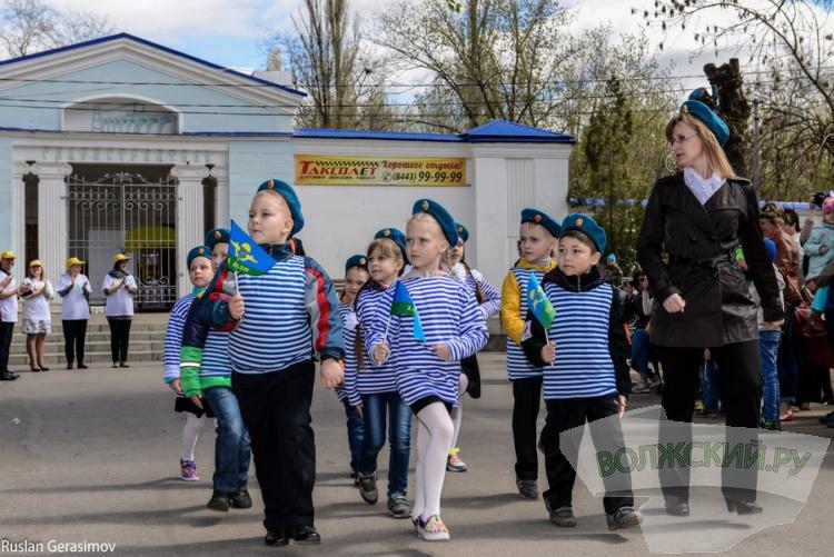День призывника в Волжском. Большой фотоотчет