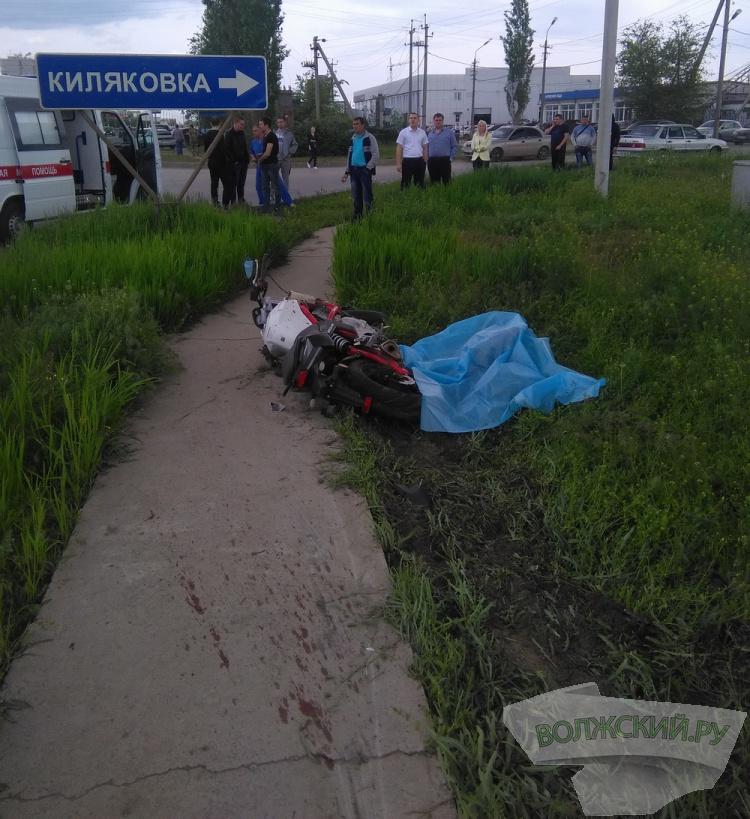 В Волжском очередной мотоциклист разбился насмерть