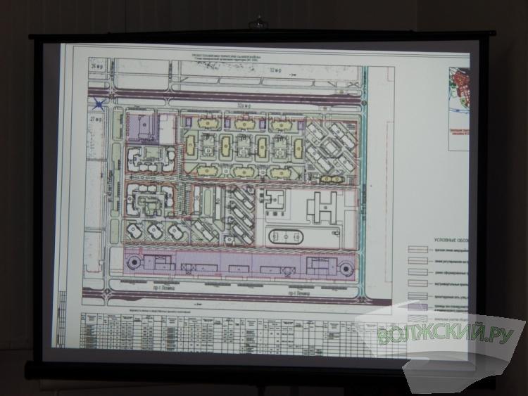 Мэрия отклонила проект планировки микрорайона 32а