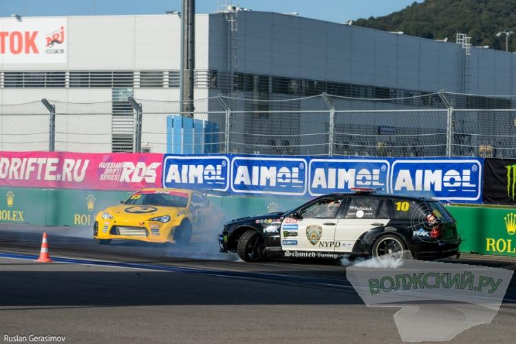 На трассе «Формулы 1» в Сочи состоялся большой праздник дрифта