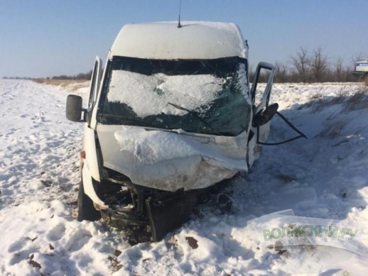 На трассе в ДТП с «маршруткой» погибла водитель «Daewoo Matiz»