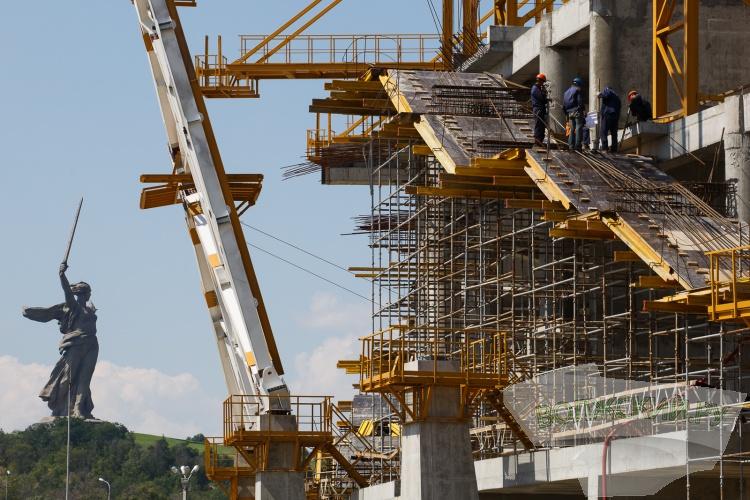 На «Волгоград-Арене» начались отделочные работы