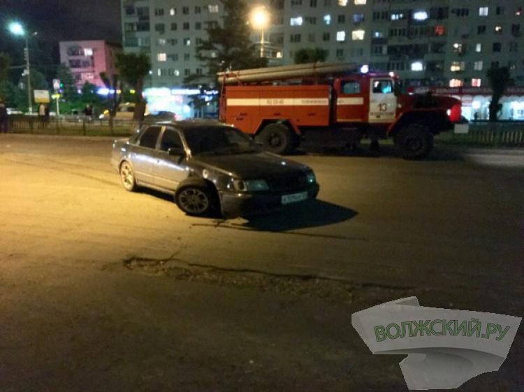 Ночные «гонки» по проспекту Ленина завершились серьезным ДТП