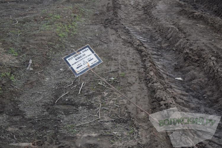 Подрядчик «Леруа Мерлен» топит Волжский в грязи
