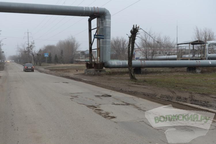 С какими дорогами Волжский встречает весну?